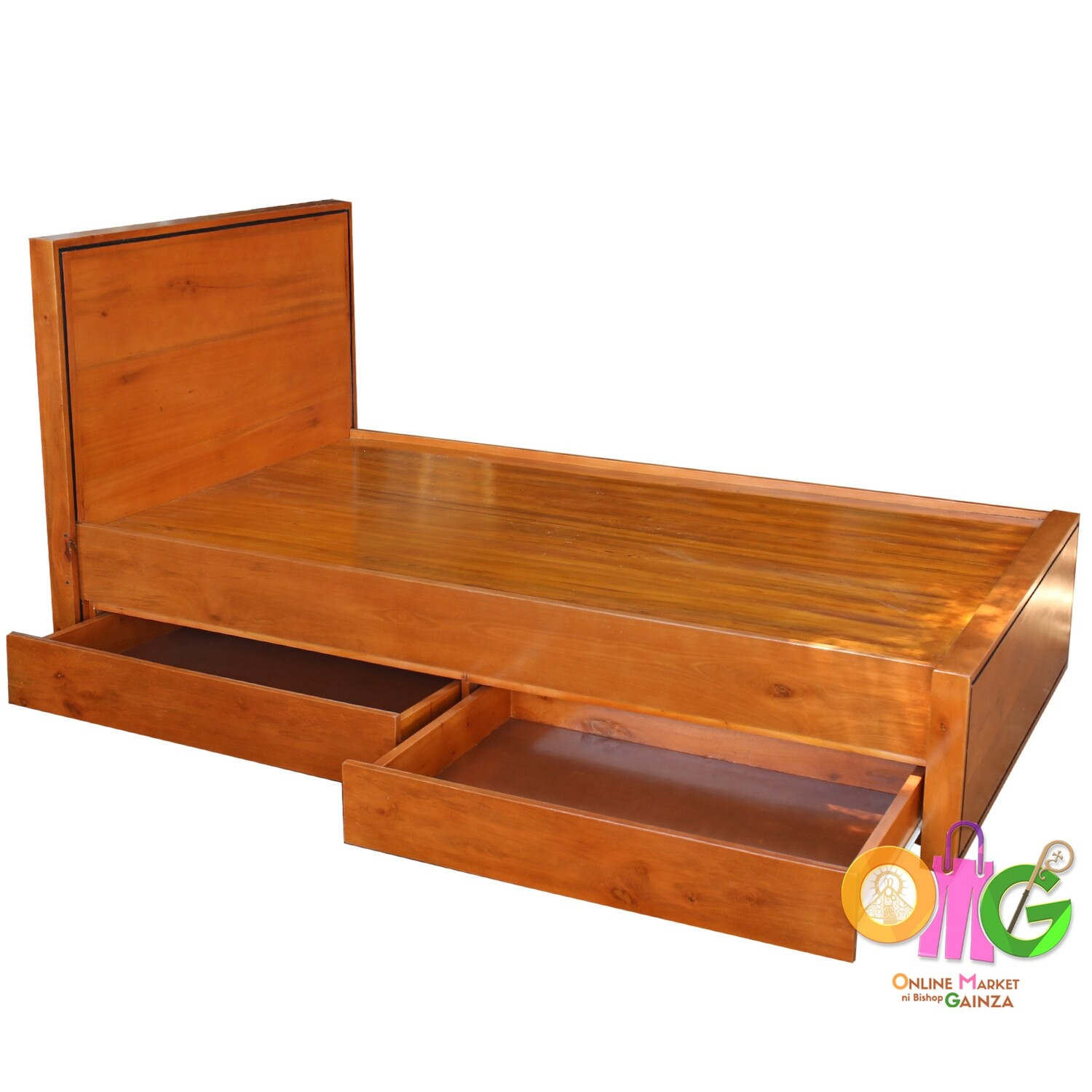 Congrande Furnitures - Bed with Drawer