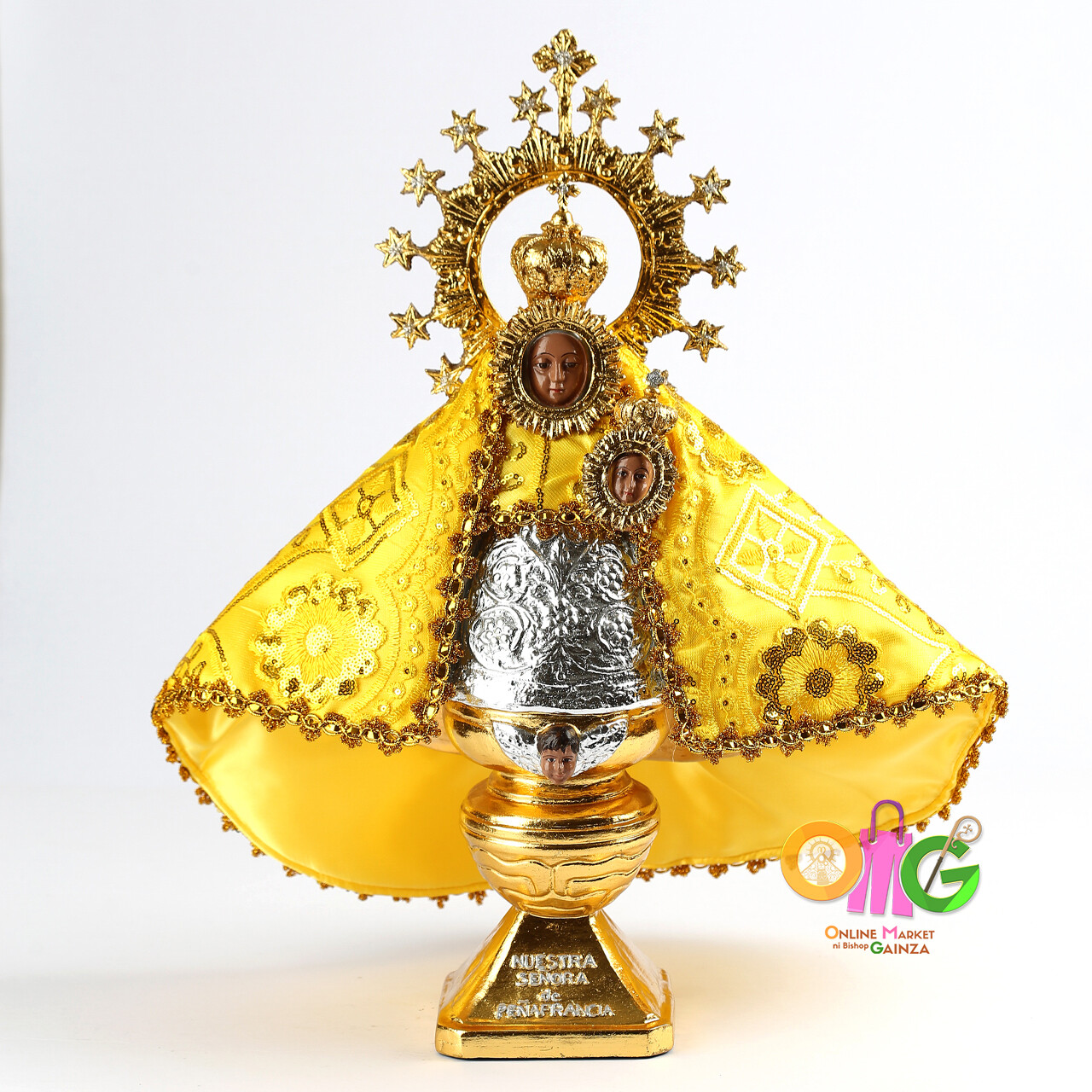 Daughters Of Mary - Our Lady of Peñafrancia with Manto Cloth