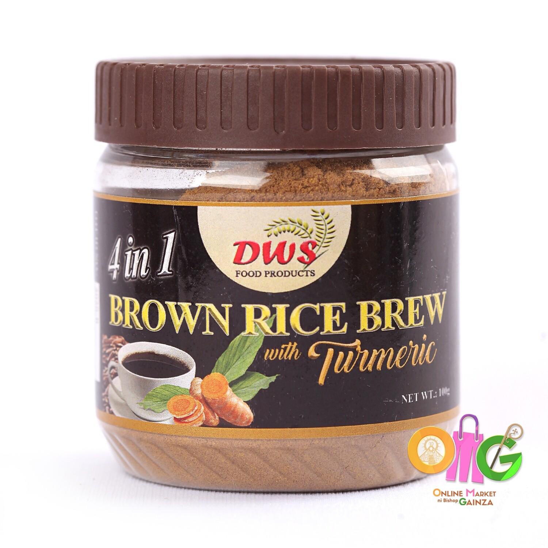 DWS - Brown Rice Brew with Turmeric