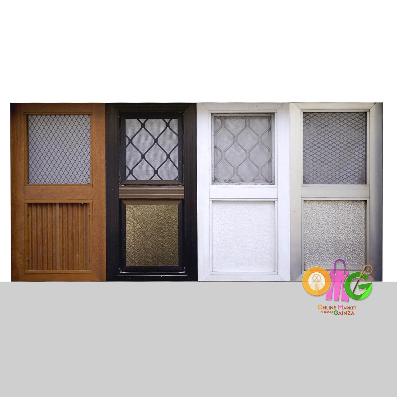 ELPA Glass and Aluminum - Screen Doors (4 varieties)