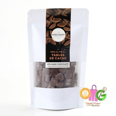 Hearty Harvest - Dark Chocolate Mini Tablea de Cacao