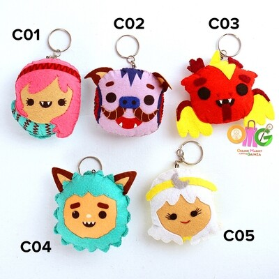 Karaw Craftventures - Keychain Card Keepers (Philippine Mythical Creatures)