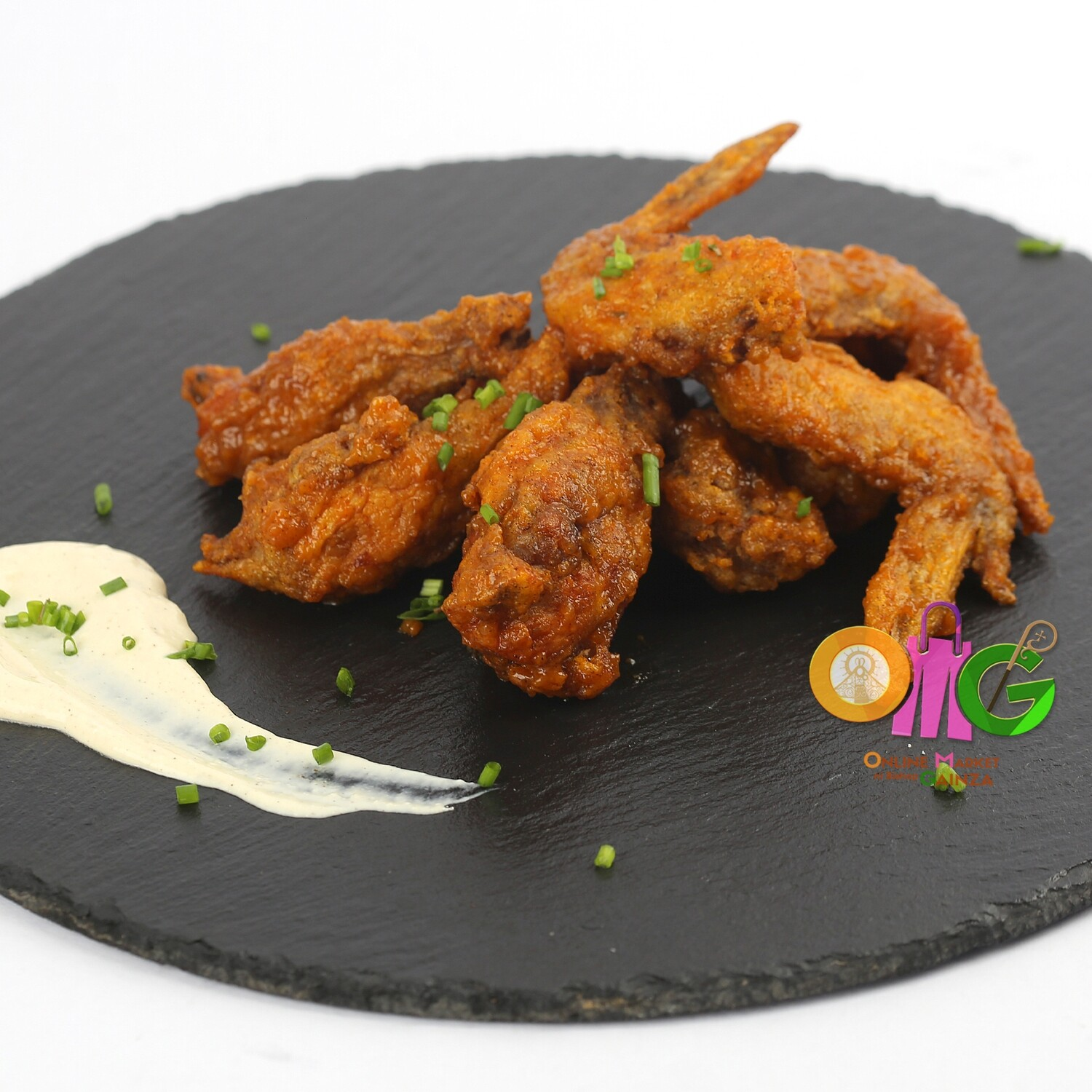 Maiev's - Buffalo Wings with Blue Cheese Dip
