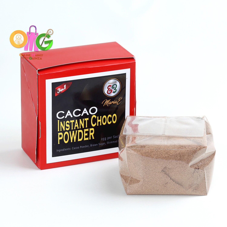 Maria E - Instant Choco Powder 3-in-1