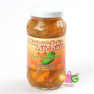 Mommy Lab's Atchara - Pickled Papaya
