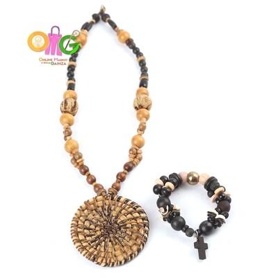 Mom Ofels Print & Crafts - 1 Necklace with Bracelet Set (Buri)