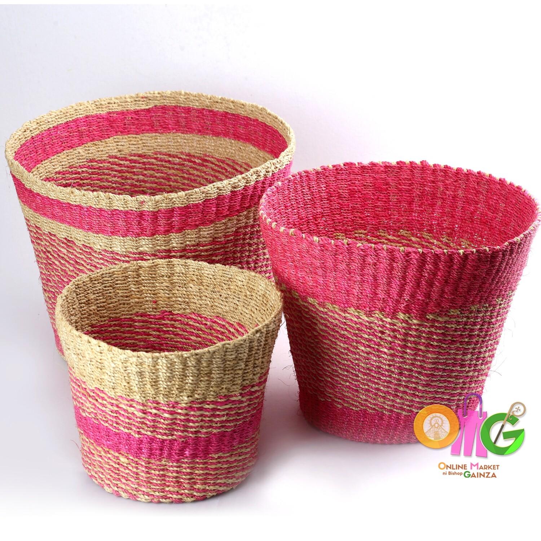 NMJV Abaca Supplier - Pink Pots