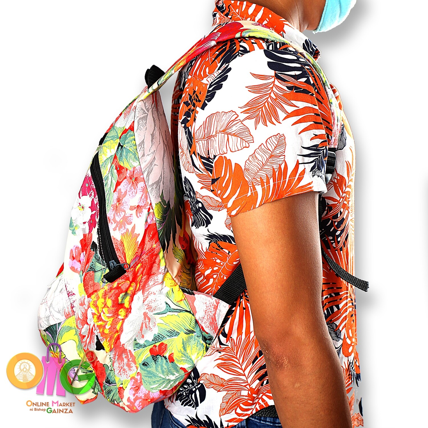 N&T Pagkamoot Arts & Crafts - Floral Backpack