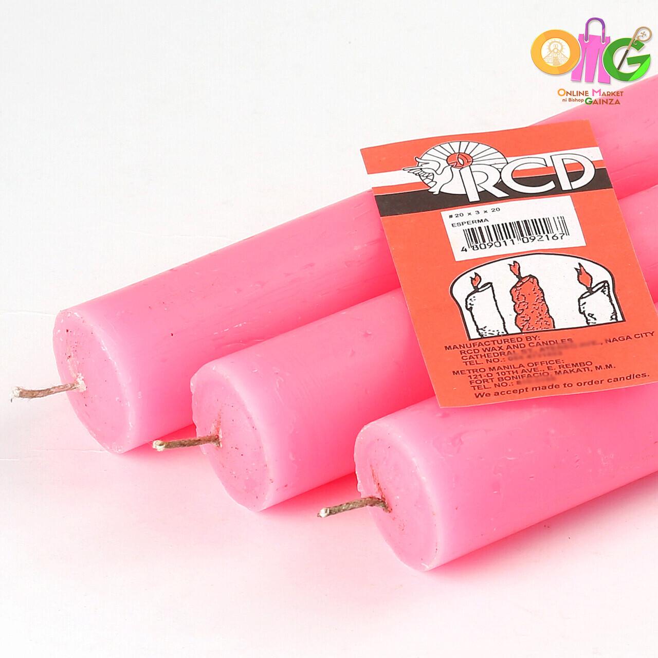 RCD Wax - Medium Candle (20 X 3)