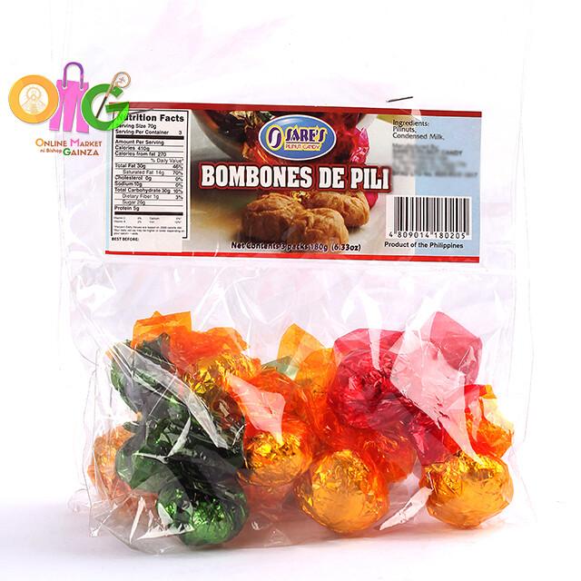 Sare's Pili - Bombones Pili Nut Candy