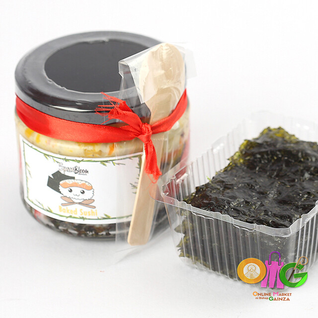 Spacebloom - Baked Sushi in a Jar