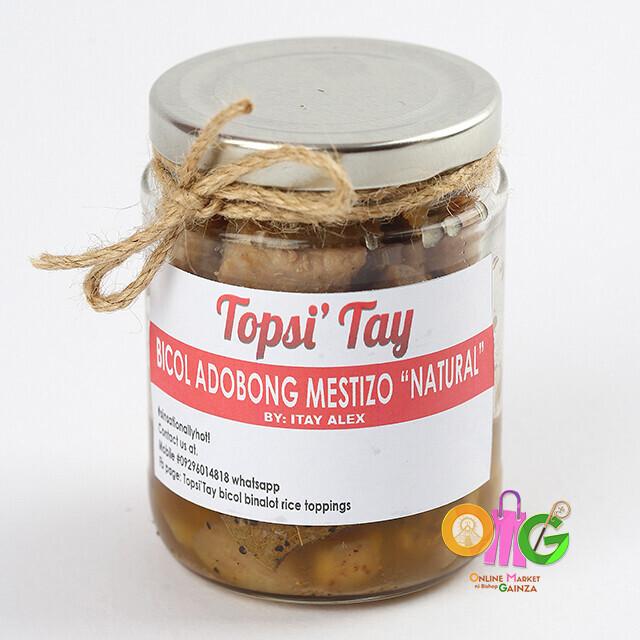 """Topsi' Tay - Bicol Adobong Mestizo """"Natural"""""""