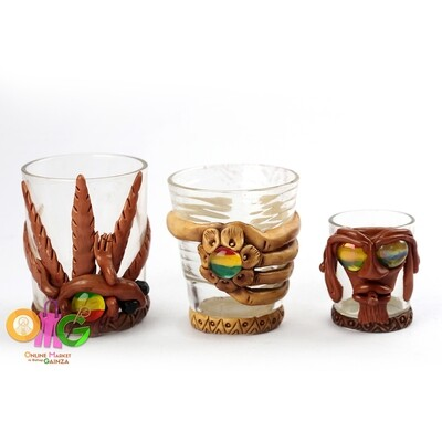 Tribu ni Rasta - Shot Glass With Design