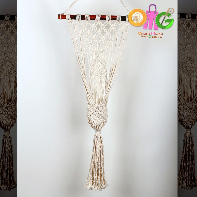 Guiribo Decembradas Craft Home Decor - Macrame Plater / Pot Holder