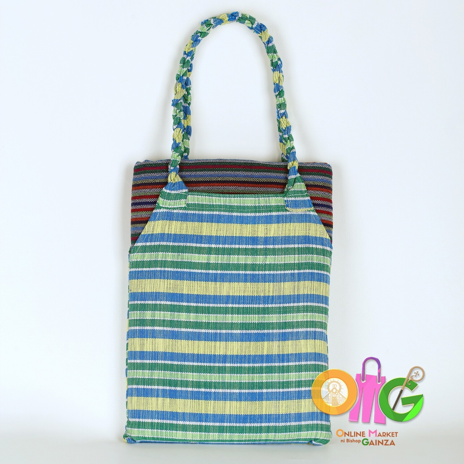 Luz Loom Wearing Services - Blue Green Bag and Midnight Blue Blanket