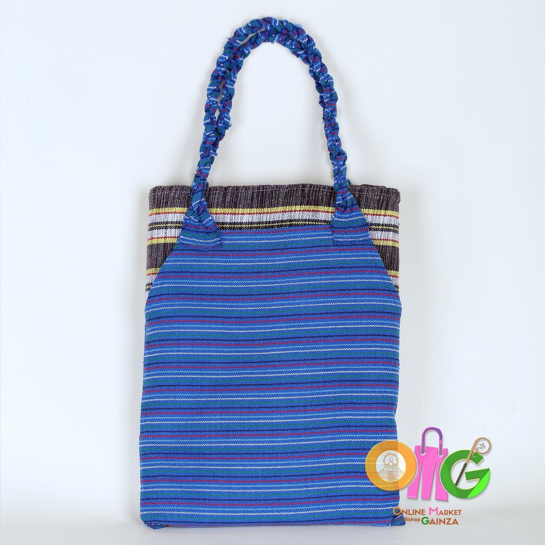 Luz Loom Wearing Services - Blue Bag and Black Blanket