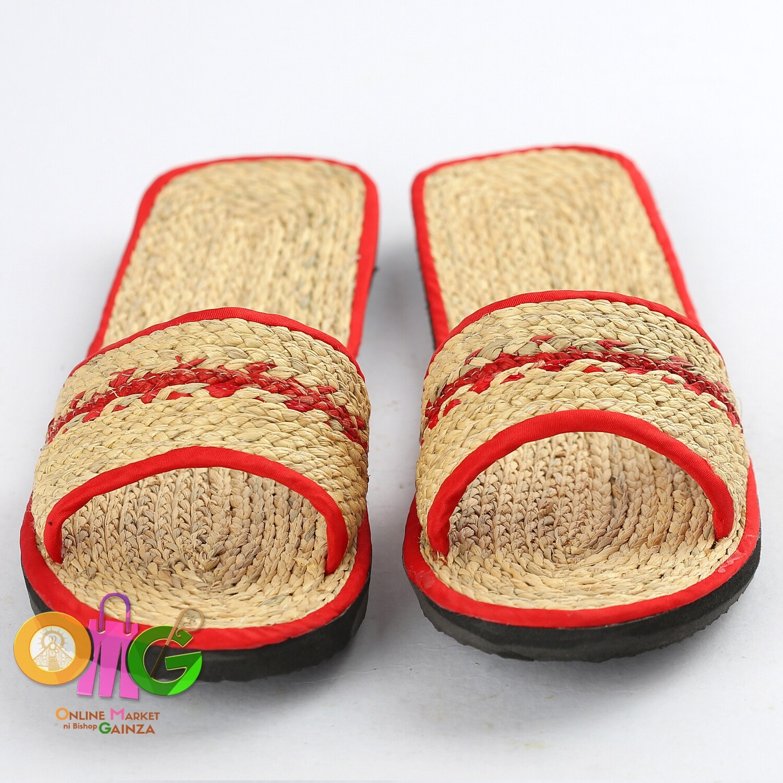 Tayas Handicrafts - Slipper for Women Red