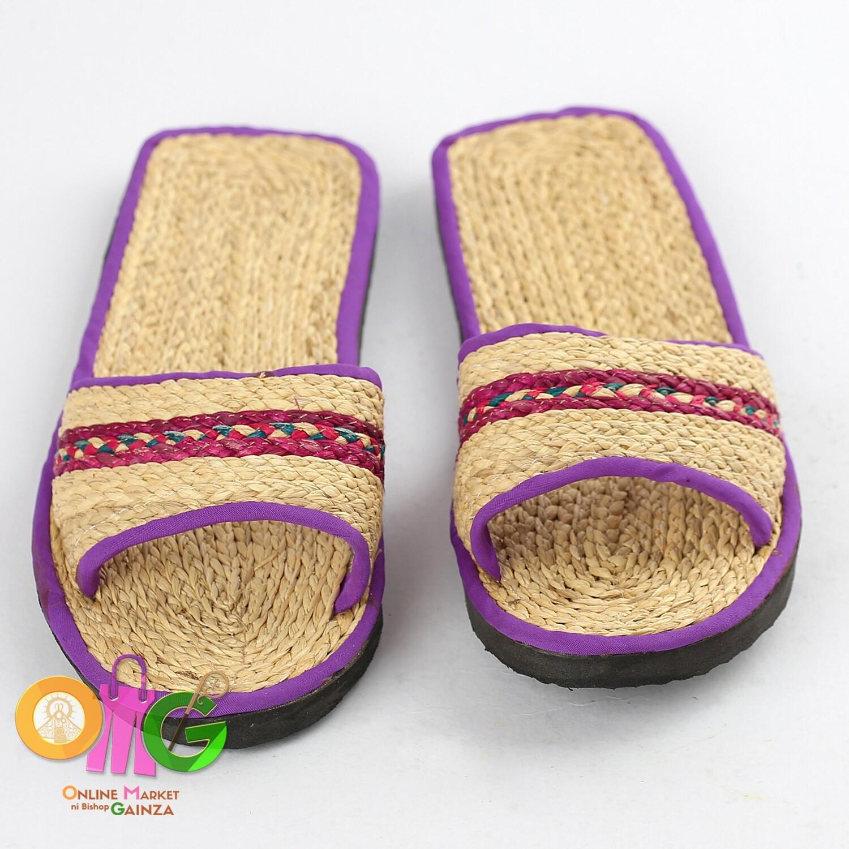 Tayas Handicrafts - Slipper for Women Violet
