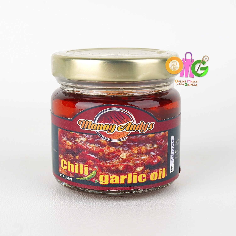 Manoy Andy's Ihawan - Chili Garlic Oil