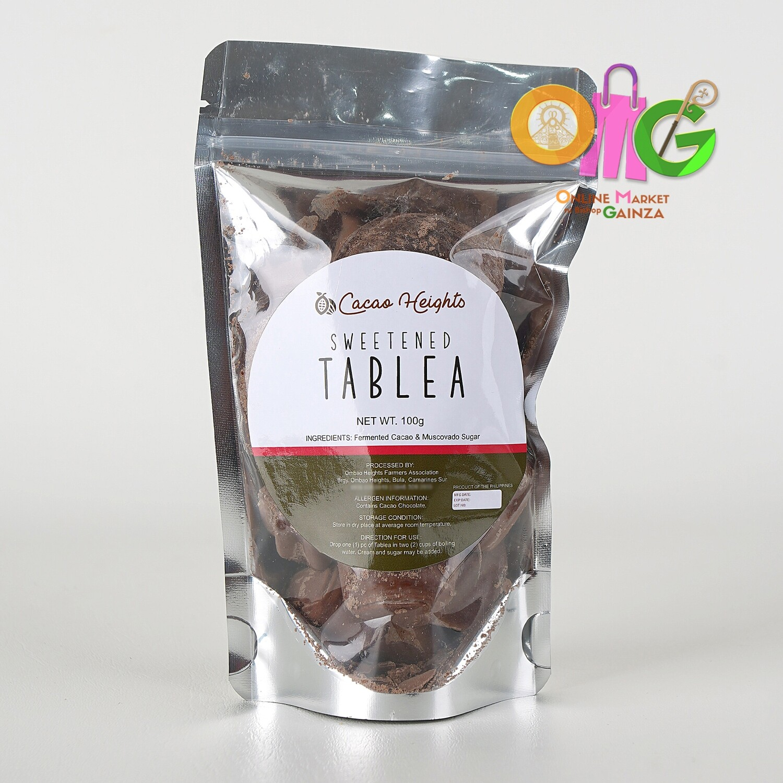 Cacao Heights - Sweetened Tablea