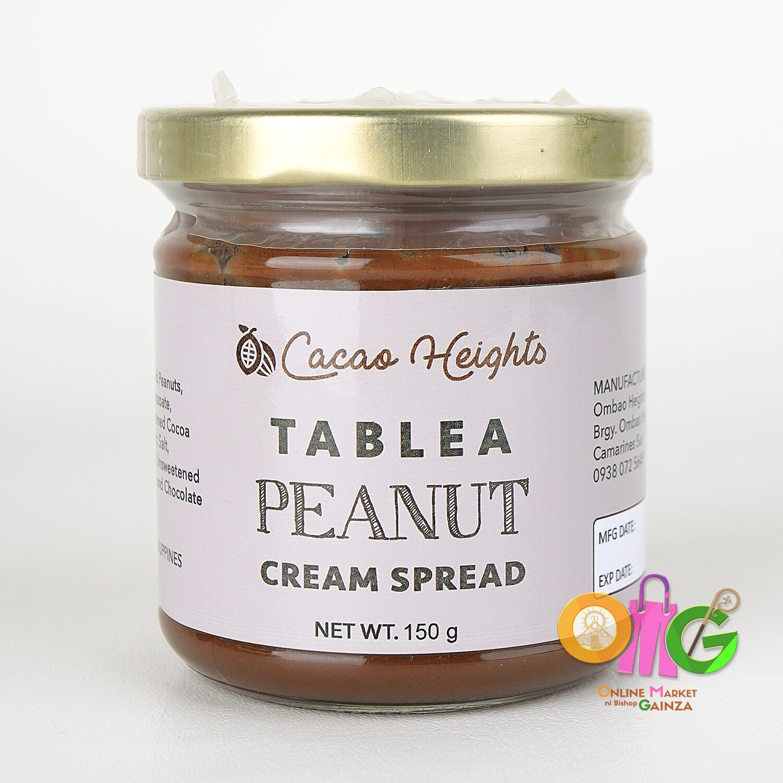 Cacao Heights - Tablea Peanut Cream Spread
