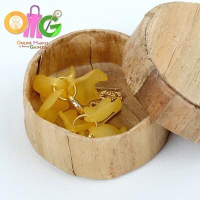 Icenhart Kawaii Handicrafts - Yellow Dangling Earrings