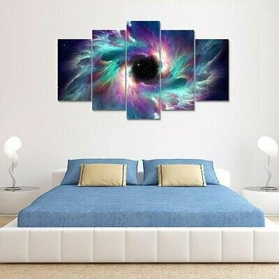 Creation Multi Canvas Print Wall Art