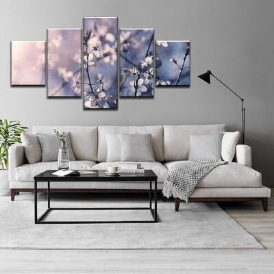 Blossom Multi Canvas Print Wall Art
