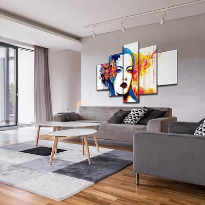 Between Multi Canvas Print Wall Art