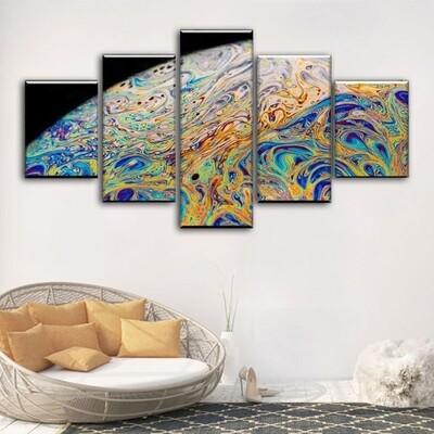 Biosphere Multi Canvas Print Wall Art