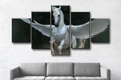 Pegasus Multi Canvas Print Wall Art