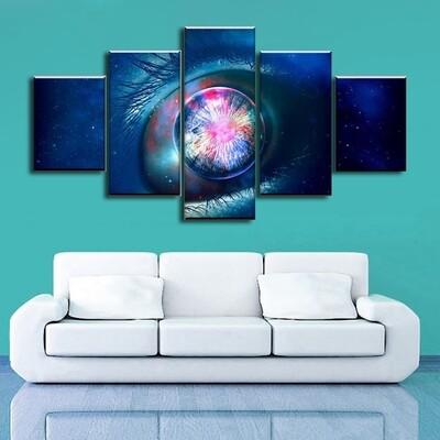 Infinite Multi Canvas Print Wall Art