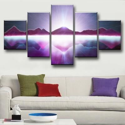 The Grid Multi Canvas Print Wall Art