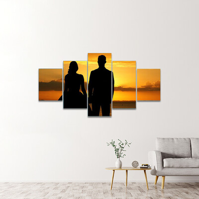 Beautiful Wedding Multi Canvas Print Wall Art