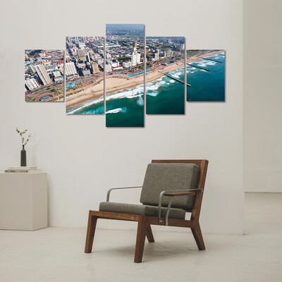 Durban In South Africa Multi Canvas Print Wall Art