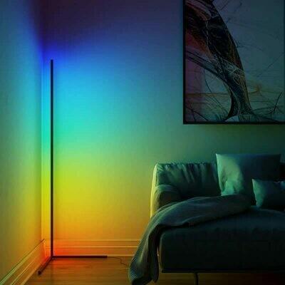 Nordic LED Floor Lamp Corner LED Floor Light Coloful Bedroom lamp Atmosphere Lighting Club Home ndoor Decor Corner Standing Lamp