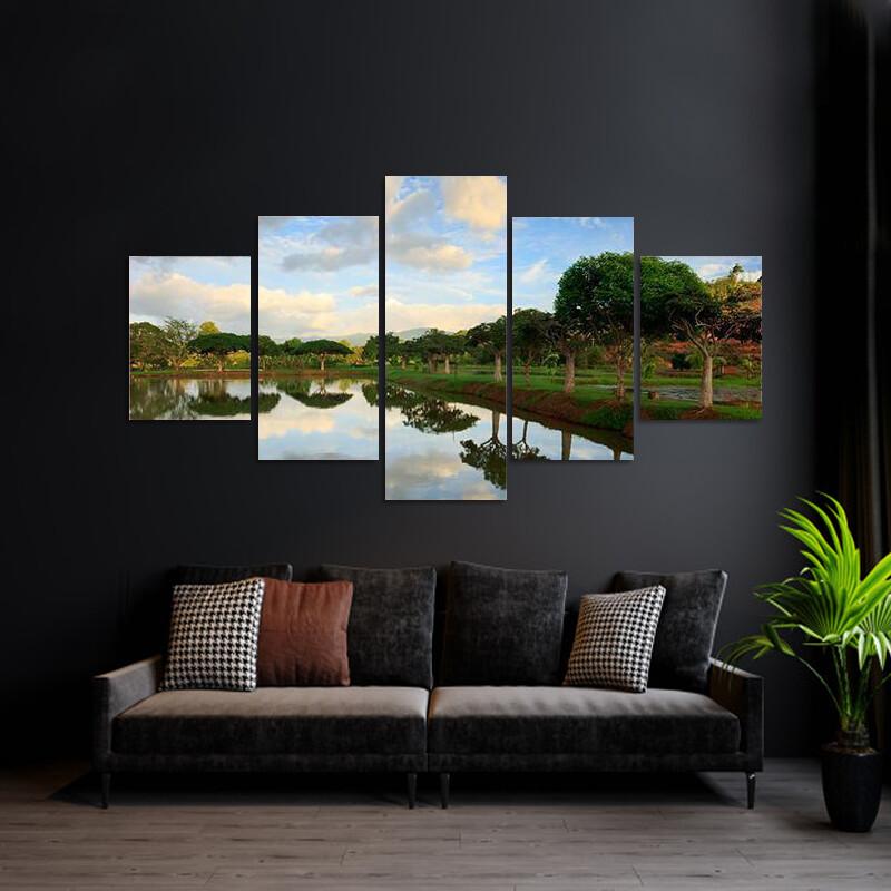 Borneo Sabah Malaysia Multi Canvas Print Wall Art