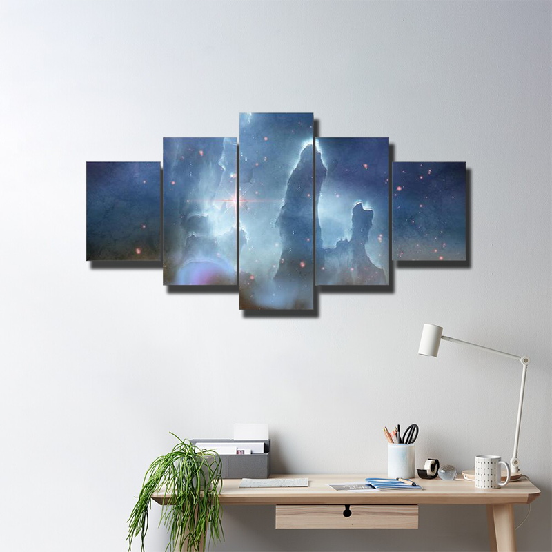 Pillars Of Creation Eagle Nebula Multi Canvas Wall Art