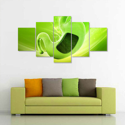 Digital Illustration Of Stomach Multi Canvas Print Wall Art