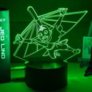 Aang Gliding 3D Night Light Table Lamp