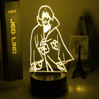 Itachi Uchiha Naruto 3D Night Light Table Lamp