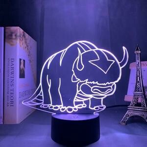 Avatar The Last Airbender Appa 3D Night Light Table Lamp
