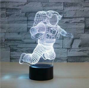 Astronaut 3D Night Light Table Lamp