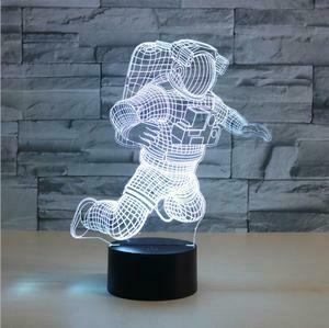 Astronaut 3D Night Light Table Lamp