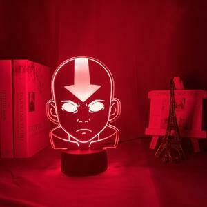 Avatar The Last Airbender Aang 3D Night Light Table Lamp