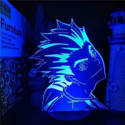 Bokuto Haikyuu 3D Night Light Table Lamp