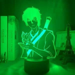 Avatar The Last Airbender Zuko 3D Night Light Table Lamp