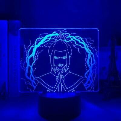 Azula 3D Night Light Table Lamp