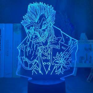 Joker 3D Night Light Table Lamp