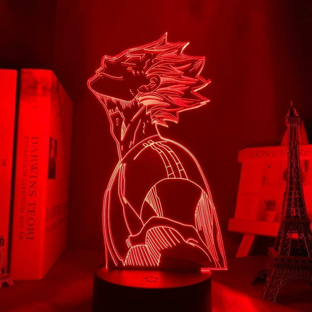Bokuto Profile Haikyuu 3D Night Light Table Lamp
